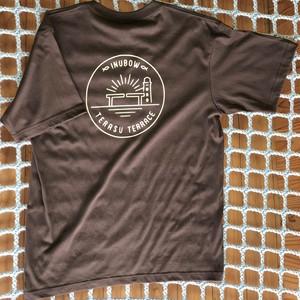 オリジナルロゴTシャツ ブラウン×ベージュ