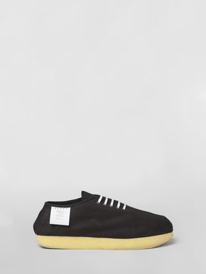 MARNI COTTON DRILL LACE-UP Black ALMR003202