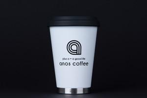 anos coffee tumbler (tall) white