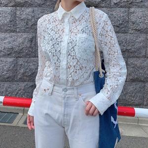 """"""" Calvin Klein """" vintage lace blouse"""