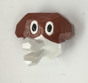 動物くちばしマグネット イヌ