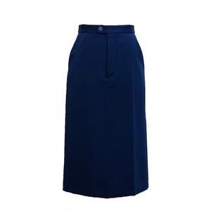 メゾンマルジェラ ( Maison Margiela ) シームディテールスカート ブルー
