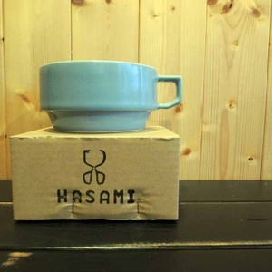 HASAMI / BLOCKMUG SOUP BLUE(HA-3-3)