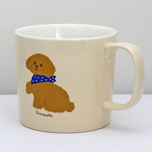 【シューケット】マグカップ(トイプードル)【犬 犬柄 41604】