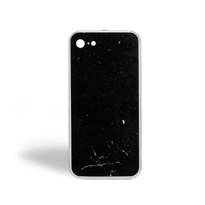 THE MARBLE CASE NERO MARQUINA IPHONE 7/8 SILVER