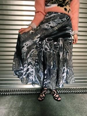 Vintage paisley  design skirt ( ヴィンテージ ペイズリー柄 デザイン スカート
