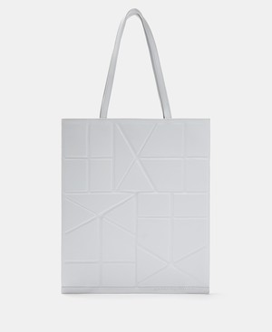 TOTE BAG WITH GEOMETRIC LINES [21201116620111]