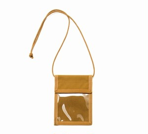 MIS-1032 ID PASS PORT CASE_COYOTE BROWN