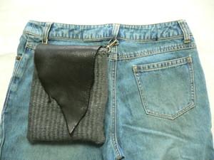 <安価版>輪織りで楽しむ、革ふたのヒップポーチキット