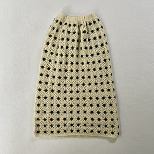 hand knit tight skirt
