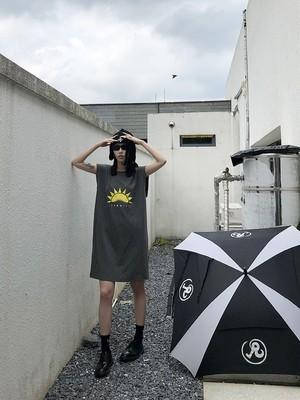 summerSUNワンピース(Grey,Black) 100