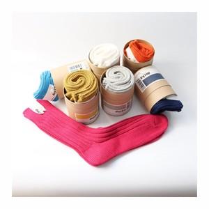 decka / デカ Cased Heavyweight Plain Socks /ヘビーウェイトプレーンリブソックス
