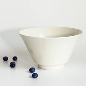 「シエル Ciel」きほんのうつわ どんぶり鉢 ボウル 皿 直径約17×深さ9.4cm ホワイト 美濃焼 520118