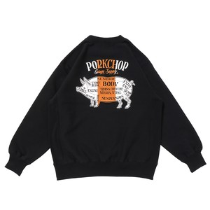 PORK BACK SWEAT/BK×OR