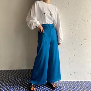 vintage wide colour pants