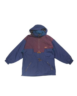 nylon big anorak parka