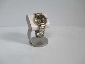 白樺風木目調シートだ円パイプ支柱カーブ腕時計スタンド 20190502