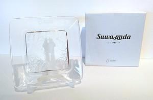 SUWA皿da[クリスタルガラス]