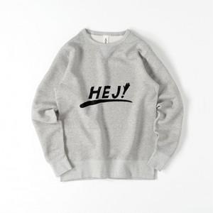 『HEJ!』 メンズスウェット