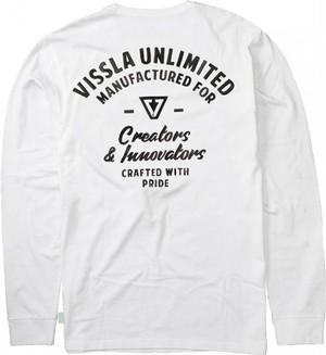VISSLA・ヴィスラCrafters LS Tee / クラフターズ 長袖Tシャツ≪2017年FALLモデル≫≪日本限定発売≫