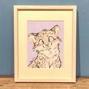 【mofuwa】原画「SNOW BABIES -leopard-」