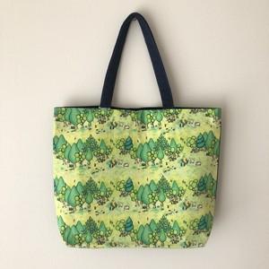 ショルダートート 『良いバッグ』 ノリーカの森柄