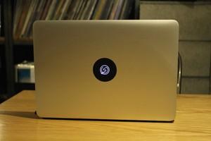 【Spincoaster】Mac Book用オリジナルカッティングステッカー