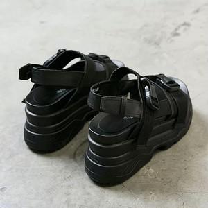 w belt simple flat sandals