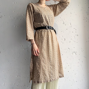 vintage caftan tunic dress