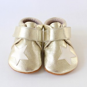 baby shoes(star)gold