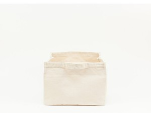 SMALL STRAGE TOTE - NATURAL