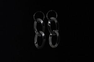 【数量限定】2 metalic twist hoop