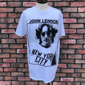 Deadstock John Lennon New York City T-Shirt White Large