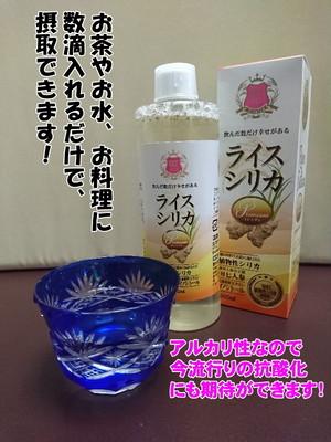 【植物性ケイ素】ライスシリカプレミアム 500ml
