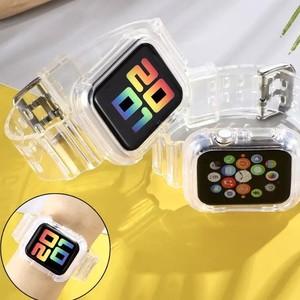 Apple Watch用バンド クリアバンド 42mm 44mm