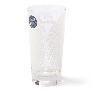 BOTANICAL GREEN GLASS -WHITE-