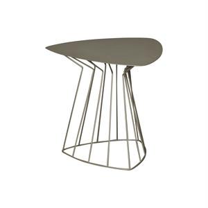 フィーロトリアンゴラーレ サイドテーブル ベージュ Arti & Mestieri社