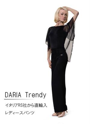 DARIA Trendy(Black Stripe Black )※裾上げテープを無料でプレゼント!