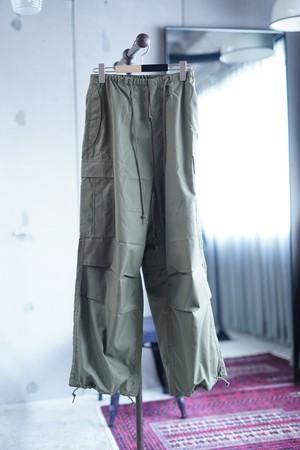HYKE / M-51TYPE SHELL PANTS  ( OLIVE/DRAD )