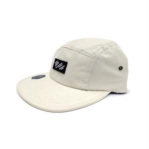 scar /////// BLOOD NYLON CAMP CAP (Cream)