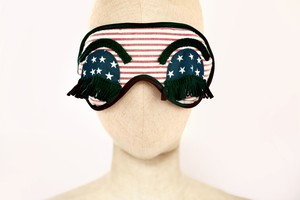 "★新商品★Solid Eye Mask ""Holy / USA"""