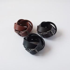 ベルト Roller buckle belt 30mm