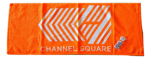 CS-TOWEL-ORANGE+バッジSET