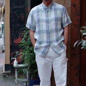 Linen S/S Shirt / リネン ショートスリーブ シャツ / PERRY ELLIS