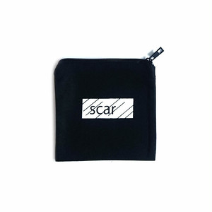 scar /////// BLACK BOX TOOL POUCH (XS) (Black)