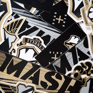 MASH 10 year anniversary sticker pack