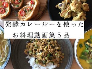 【発酵カレールーを使ったお料理動画集5品】