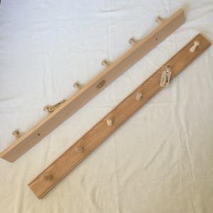 Creamore Mill / shaker peg rail 6 peg