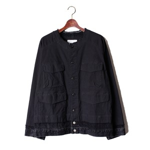 Layered Military Blouson -black <LSD-AI3B3>