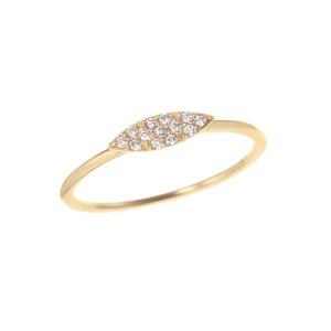K18YGダイヤモンドリング 010209004214